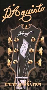 D'Aquisto Guitars