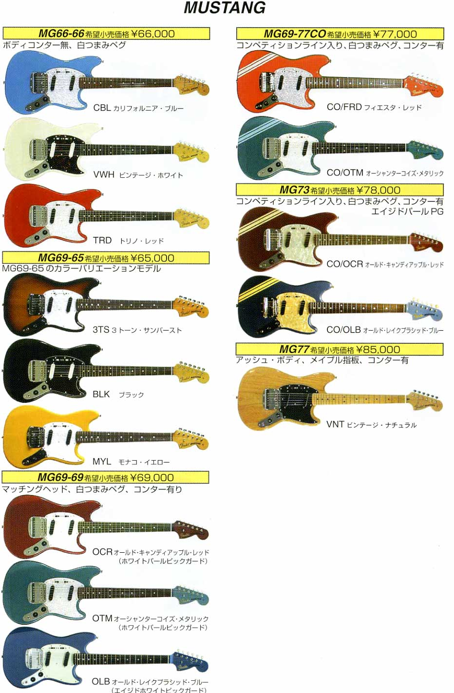 guitar prices in japan rob chapman forum. Black Bedroom Furniture Sets. Home Design Ideas